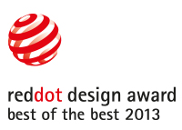 Red Dot Best of the Best Product 2013